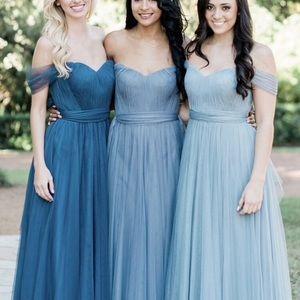 Revelry Rosalie Tulle Convertible Dress, Size 2/4P